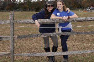 Friends enjoying Volunteer Appreciation Day in October