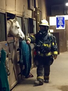 Fireman visit April 2016