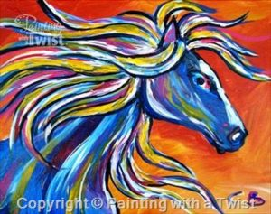 PWAP horse head