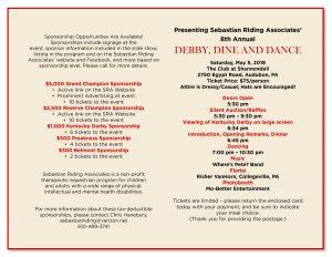 8th Annual DDD invite page 2